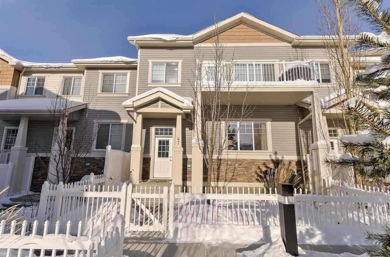 Townhouse for sale at 4850 Terwillegar Common Nw Unit 48 Edmonton Alberta - MLS: E4190598