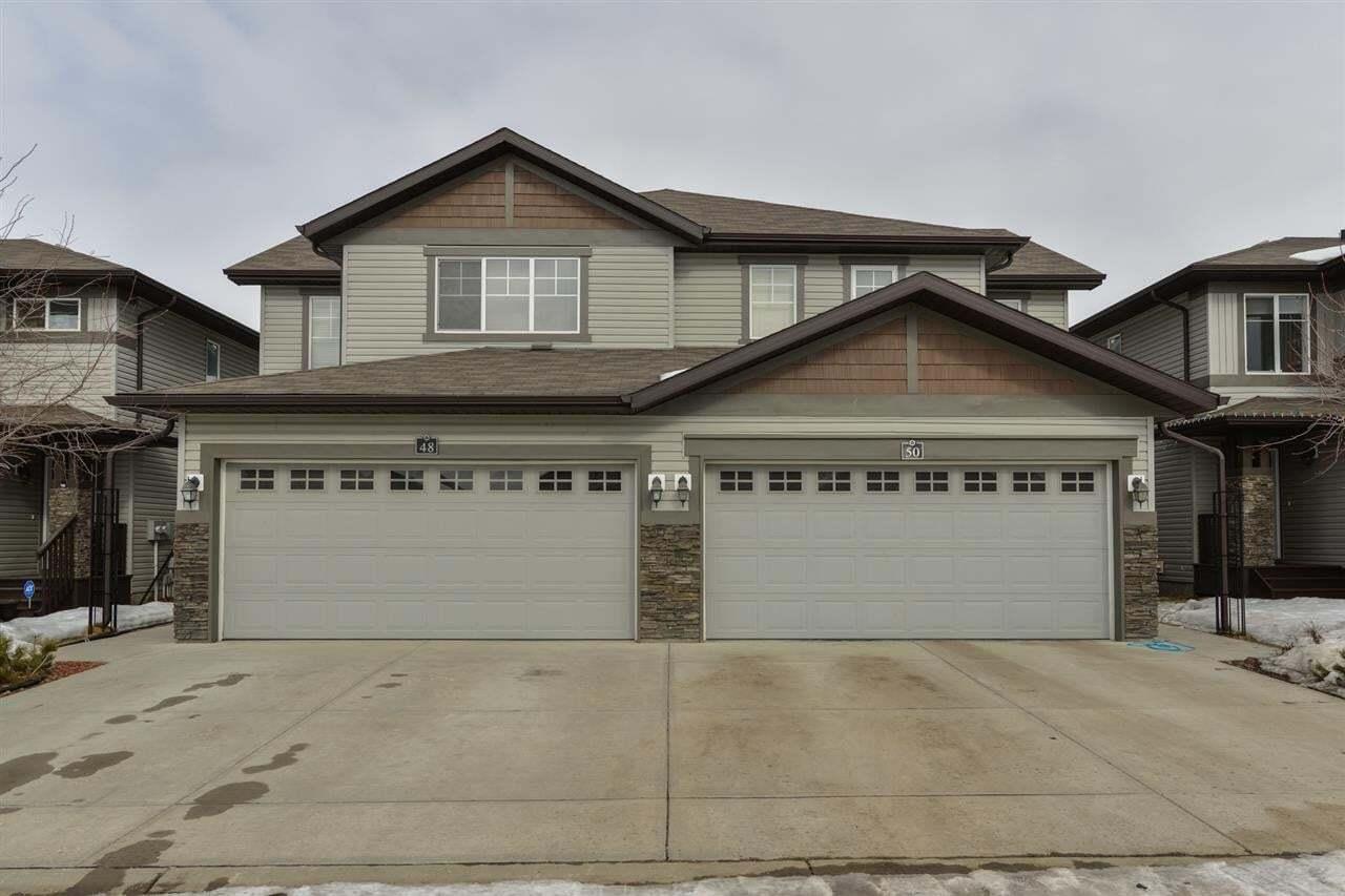 Townhouse for sale at 8602 Southfort Bv Unit 48 Fort Saskatchewan Alberta - MLS: E4207717