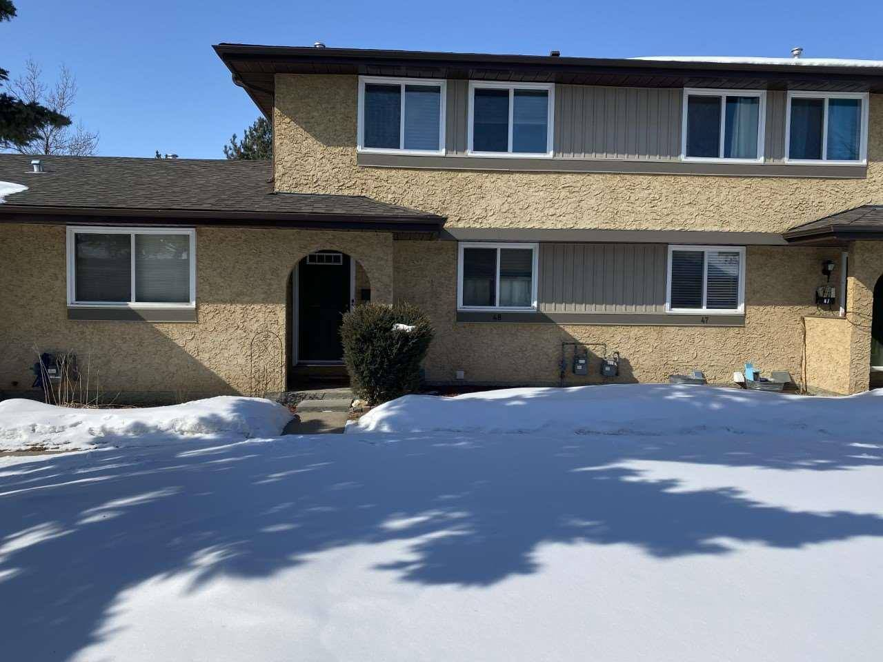 Townhouse for sale at 8930 99 Ave Unit 48 Fort Saskatchewan Alberta - MLS: E4192006