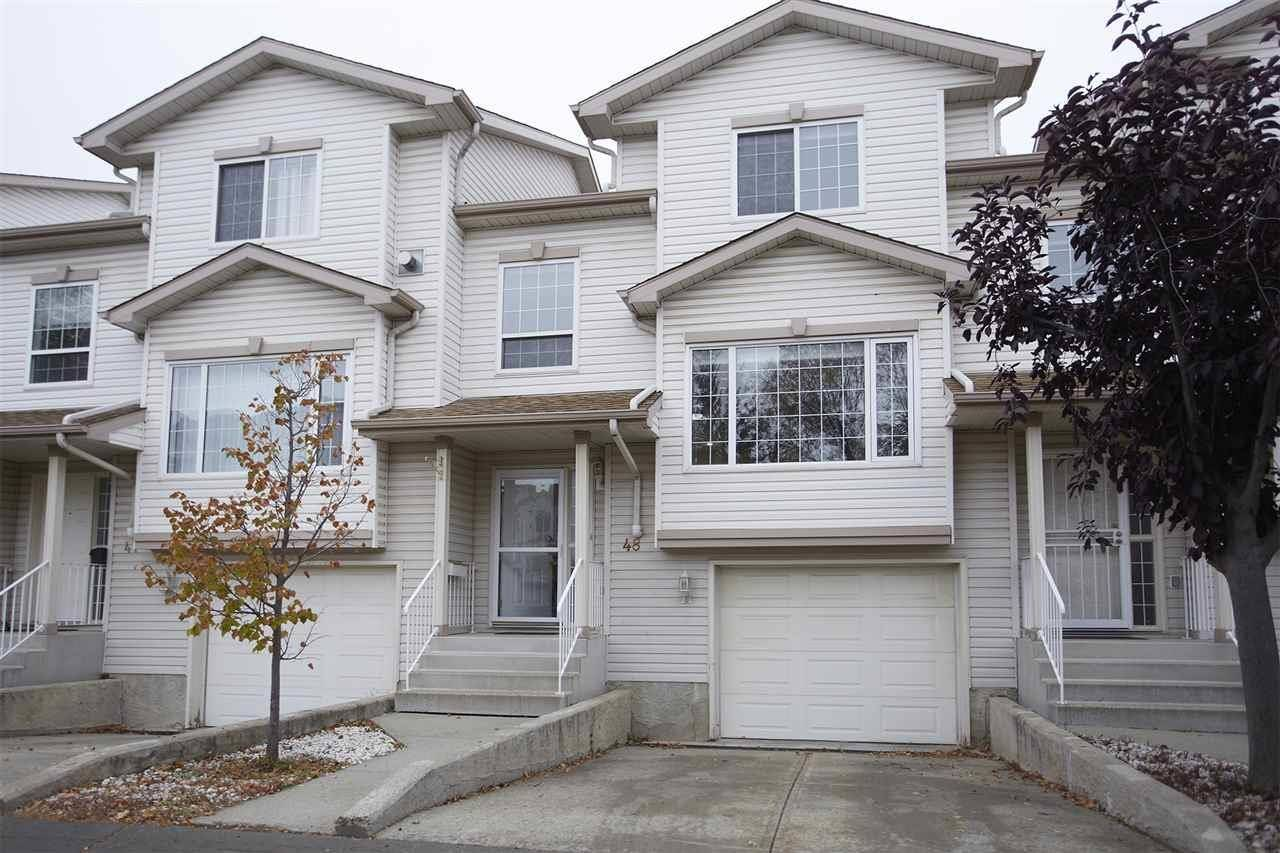 Townhouse for sale at 9630 176 St Nw Unit 48 Edmonton Alberta - MLS: E4176115