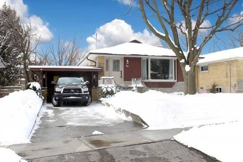 House for rent at 48 Applefield Dr Toronto Ontario - MLS: E4705739