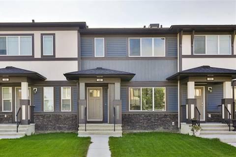 Townhouse for sale at 48 Belgian St Cochrane Alberta - MLS: C4233832
