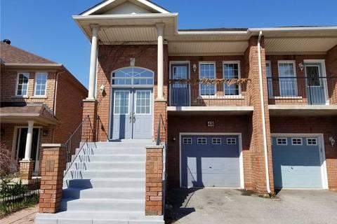 Townhouse for sale at 48 Belwood Blvd Vaughan Ontario - MLS: N4464986