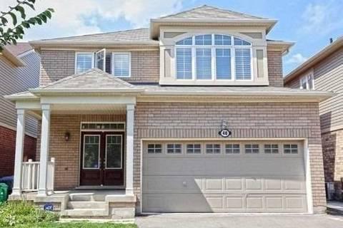 House for rent at 48 Bevington Rd Brampton Ontario - MLS: W4684913