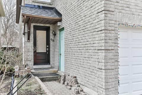 House for sale at 48 Bishop Cres Markham Ontario - MLS: N4731989