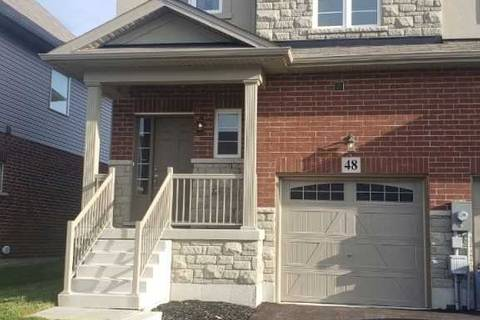 Townhouse for rent at 48 Bradbury Rd Hamilton Ontario - MLS: X4677037