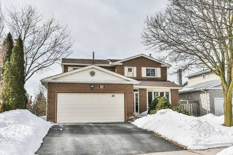 House for sale at 48 Breckonwood Cres Markham Ontario - MLS: N4376639