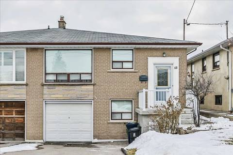Townhouse for sale at 48 Buckland Rd Toronto Ontario - MLS: W4696044