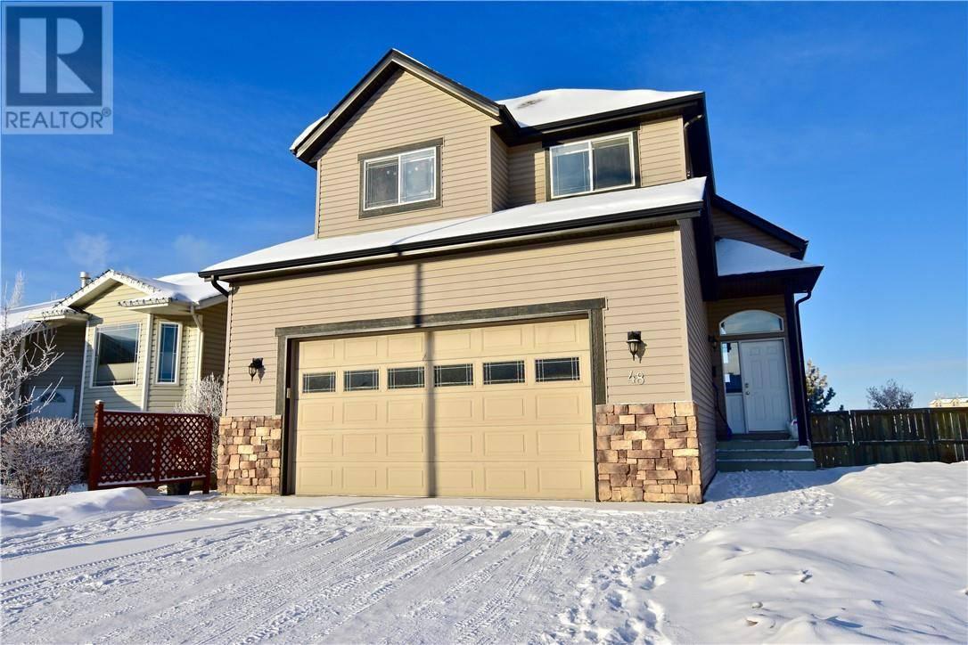 House for sale at 48 Dentoom Cs Red Deer Alberta - MLS: ca0186114