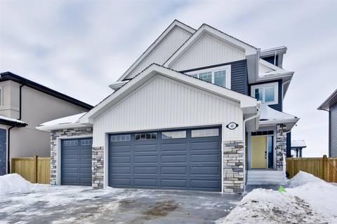 House for sale at 48 Eternity Cres St. Albert Alberta - MLS: E4143029
