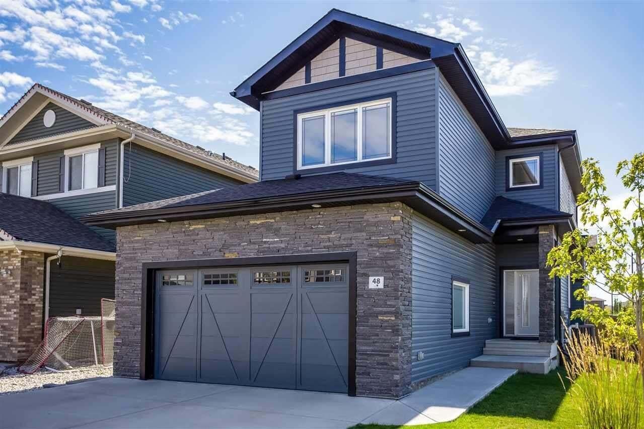 House for sale at 48 Etoile Cr N St. Albert Alberta - MLS: E4213809