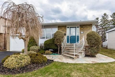 House for sale at 48 Greystone Cres Brampton Ontario - MLS: W4428705