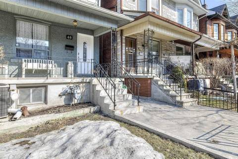 Townhouse for sale at 48 Marchmount Rd Toronto Ontario - MLS: C4390058