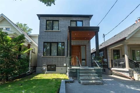 House for sale at 48 Pepler Ave Toronto Ontario - MLS: E4506815