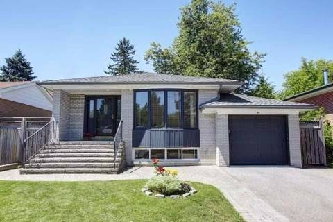 House for rent at 48 Ravenview Dr Toronto Ontario - MLS: E4560394