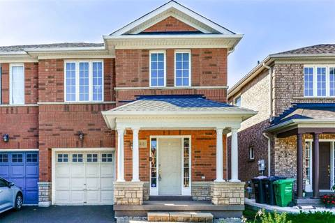 Townhouse for sale at 48 Trumpet Valley Blvd Brampton Ontario - MLS: W4581318