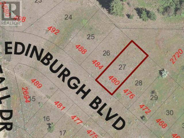 Residential property for sale at 480 Edinburgh Boulevard Blvd Kamloops British Columbia - MLS: 151912