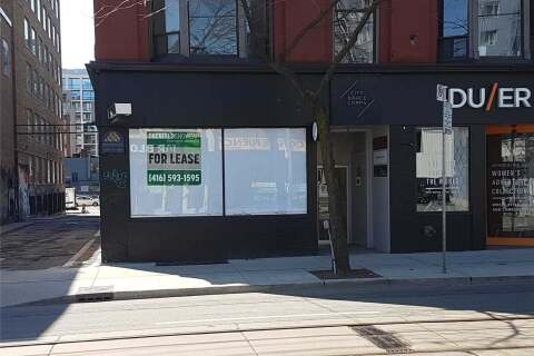 Commercial property for lease at 480 Queen St Toronto Ontario - MLS: C4922316