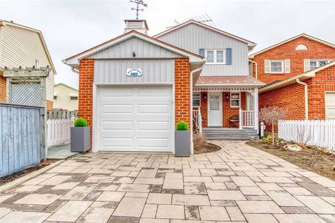 House for sale at 480 Woodlawn Cres Milton Ontario - MLS: W4728450