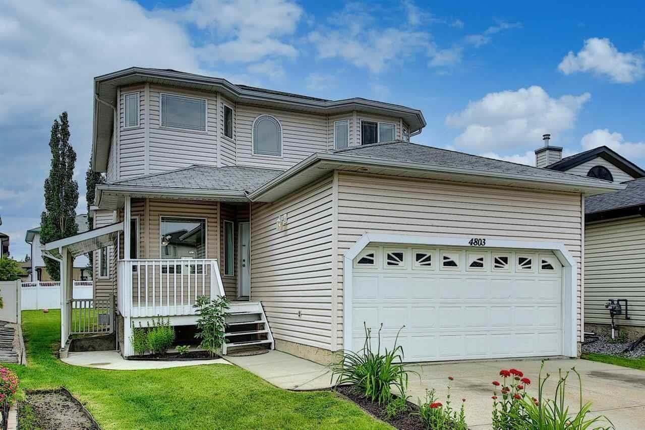 House for sale at 4803 164 Av NW Edmonton Alberta - MLS: E4205571