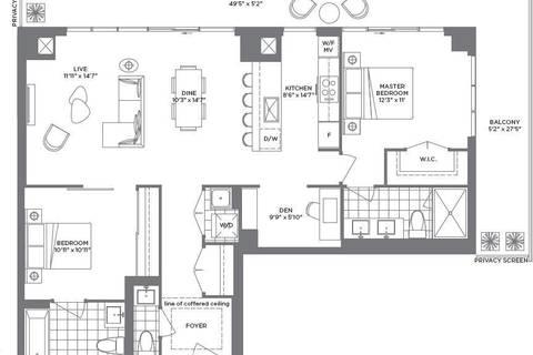 Condo for sale at 2167 Lake Shore Blvd Unit 4805 Toronto Ontario - MLS: W4746411