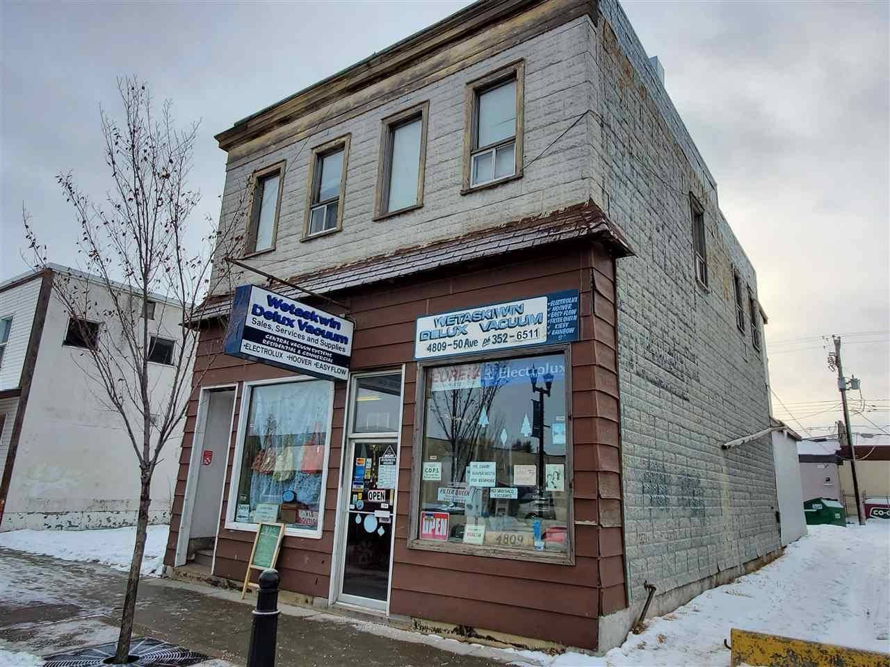 Commercial property for sale at 4809 50 Ave Wetaskiwin Alberta - MLS: E4183704