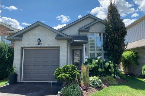 House for sale at 481 Exmouth Circ London Ontario - MLS: X4544601