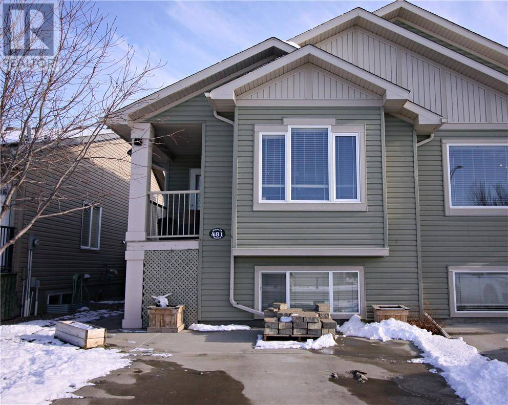 Townhouse for sale at 481 Lettice Perry Rd N Lethbridge Alberta - MLS: ld0185632