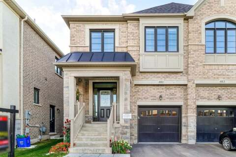 Townhouse for sale at 481 Whitlock Ave Milton Ontario - MLS: W4957928