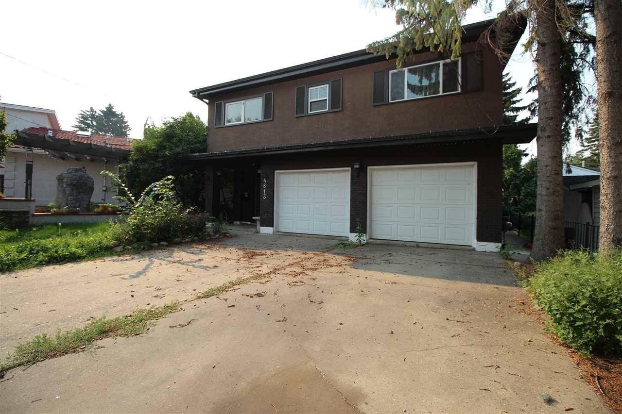 House for sale at 4813 Ada Blvd Nw Edmonton Alberta - MLS: E4174674