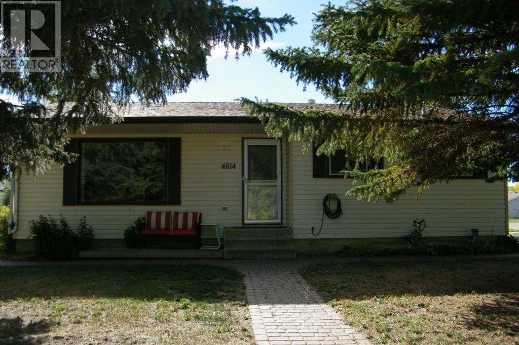 House for sale at 4814 49 Ave Forestburg Alberta - MLS: ca0103808