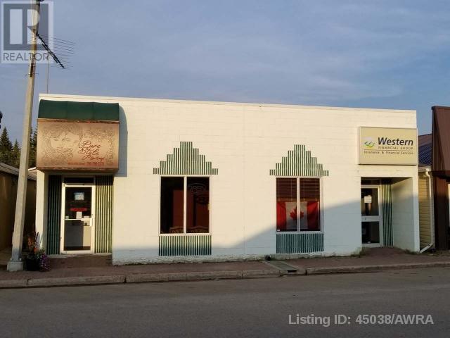 Buliding: 50 Street , Mayerthorpe, AB