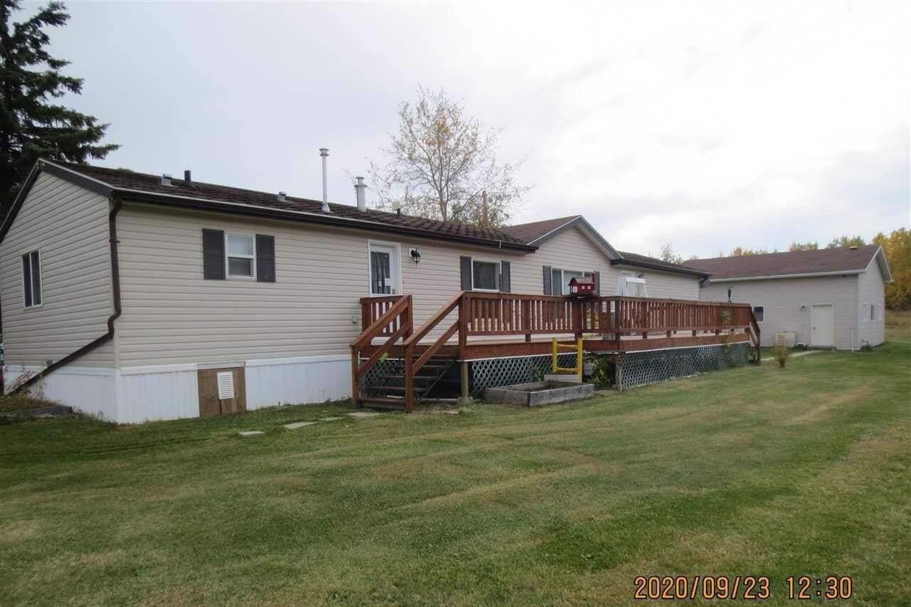 Home for sale at 4819 45 Av Evansburg Alberta - MLS: E4215597