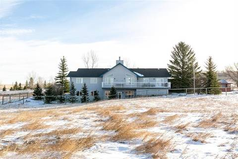 House for sale at 48205 434 Ave West Rural Foothills County Alberta - MLS: C4272040