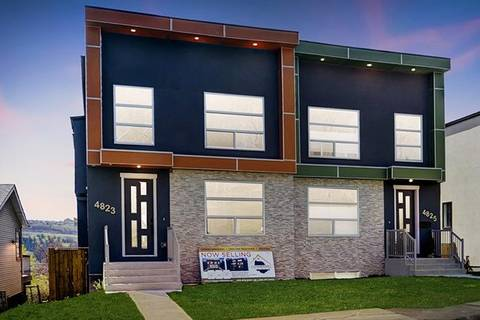 Townhouse for sale at 4823 23 Ave Northwest Calgary Alberta - MLS: C4243221