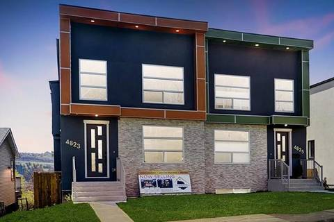 Townhouse for sale at 4823 23 Ave Northwest Calgary Alberta - MLS: C4266465
