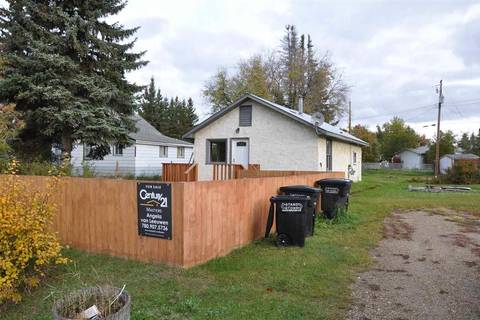 House for sale at 4824 47 Ave Onoway Alberta - MLS: E4093723