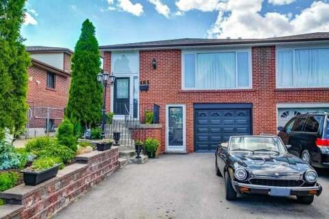 Townhouse for sale at 483 Fergo Ave Mississauga Ontario - MLS: W4853773