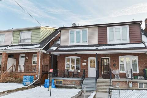 Townhouse for sale at 483 Westmount Ave Toronto Ontario - MLS: C4691184