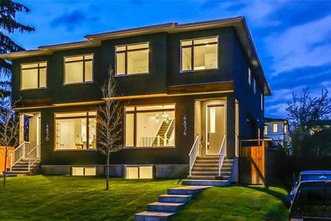Townhouse for sale at 4834 20 Ave Northwest Calgary Alberta - MLS: C4242230
