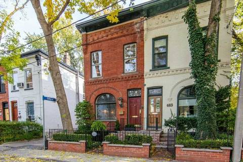 Townhouse for sale at 485 Sackville St Toronto Ontario - MLS: C4632223