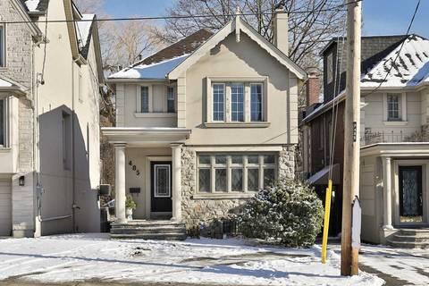 House for rent at 485 Spadina Rd Toronto Ontario - MLS: C4655624