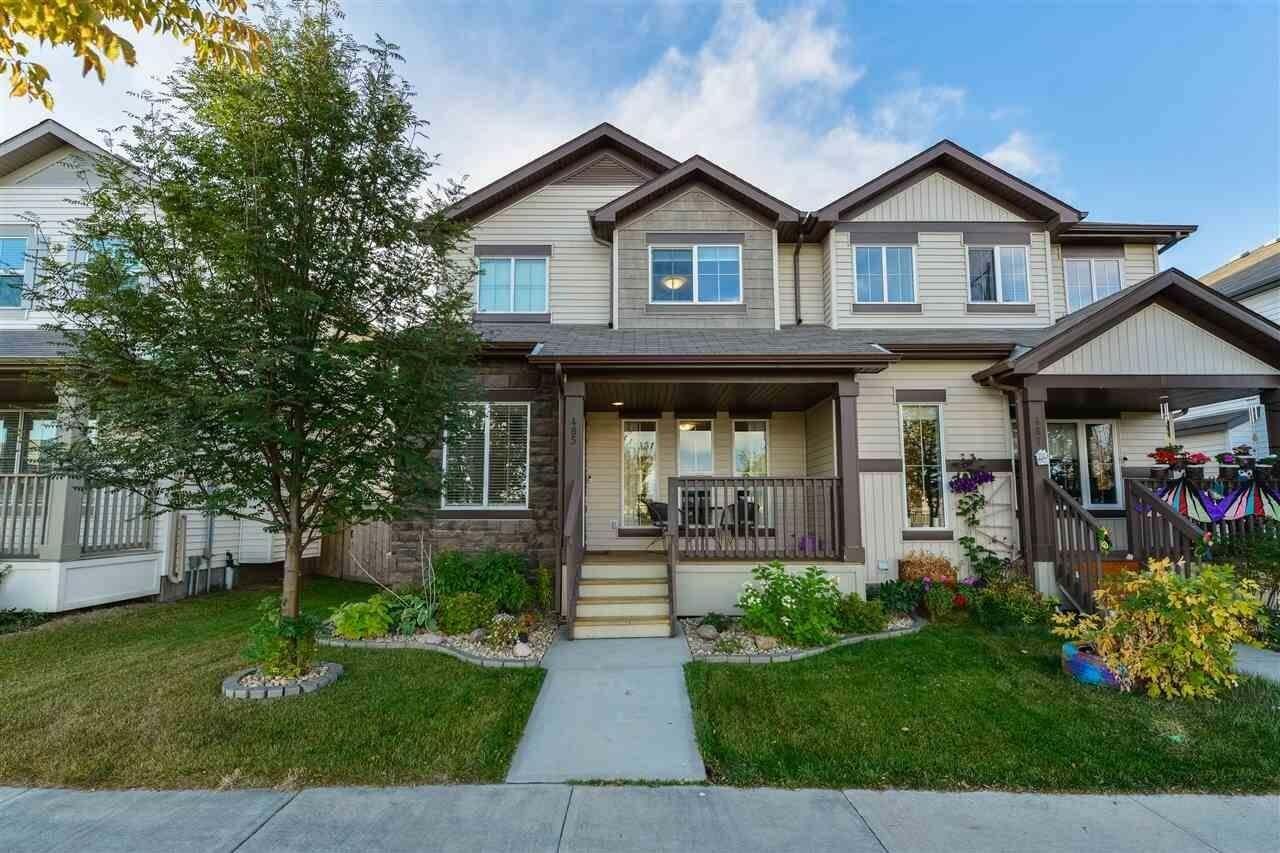 Townhouse for sale at 485 Watt Bv SW Edmonton Alberta - MLS: E4215716