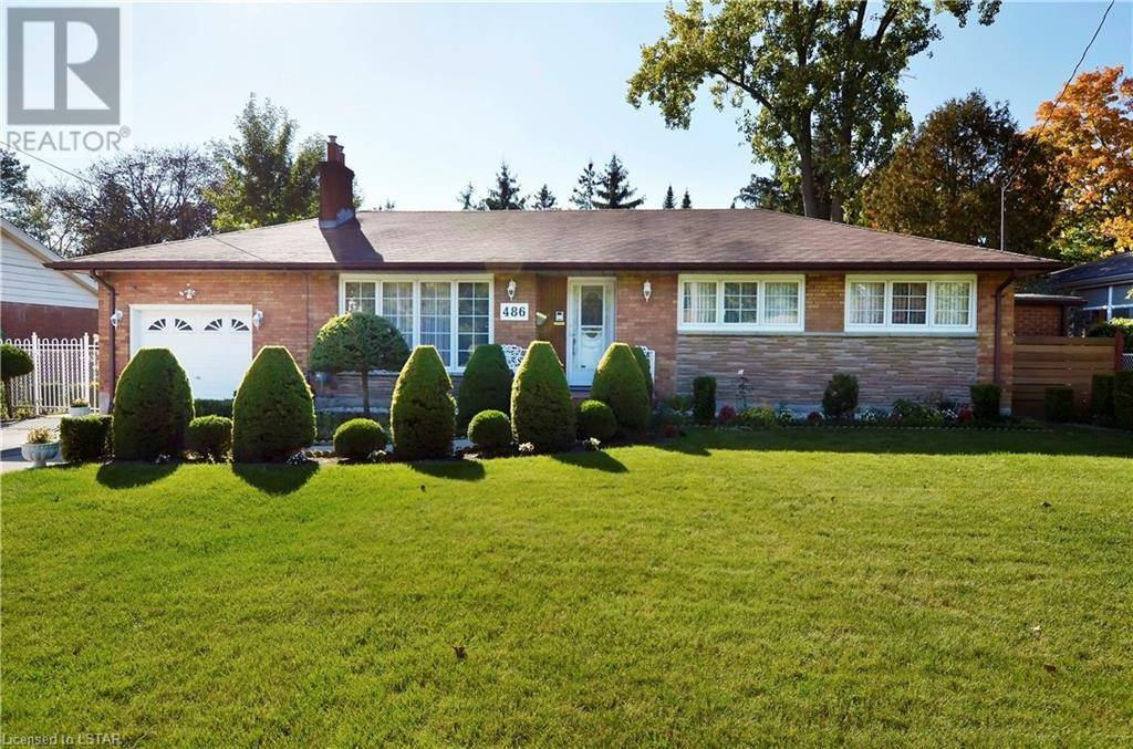 House for sale at 486 Hibiscus Ave London Ontario - MLS: 227806