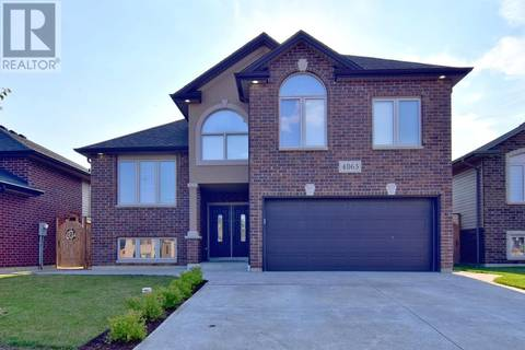 House for sale at 4865 Periwinkle Cres Windsor Ontario - MLS: 19022032