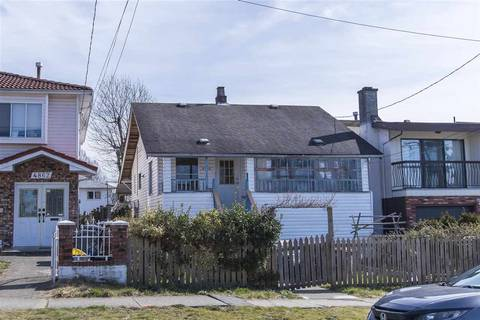 House for sale at 4866 Manor St Vancouver British Columbia - MLS: R2445672