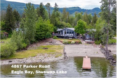 House for sale at 4867 Parker Rd Eagle Bay British Columbia - MLS: 10186336