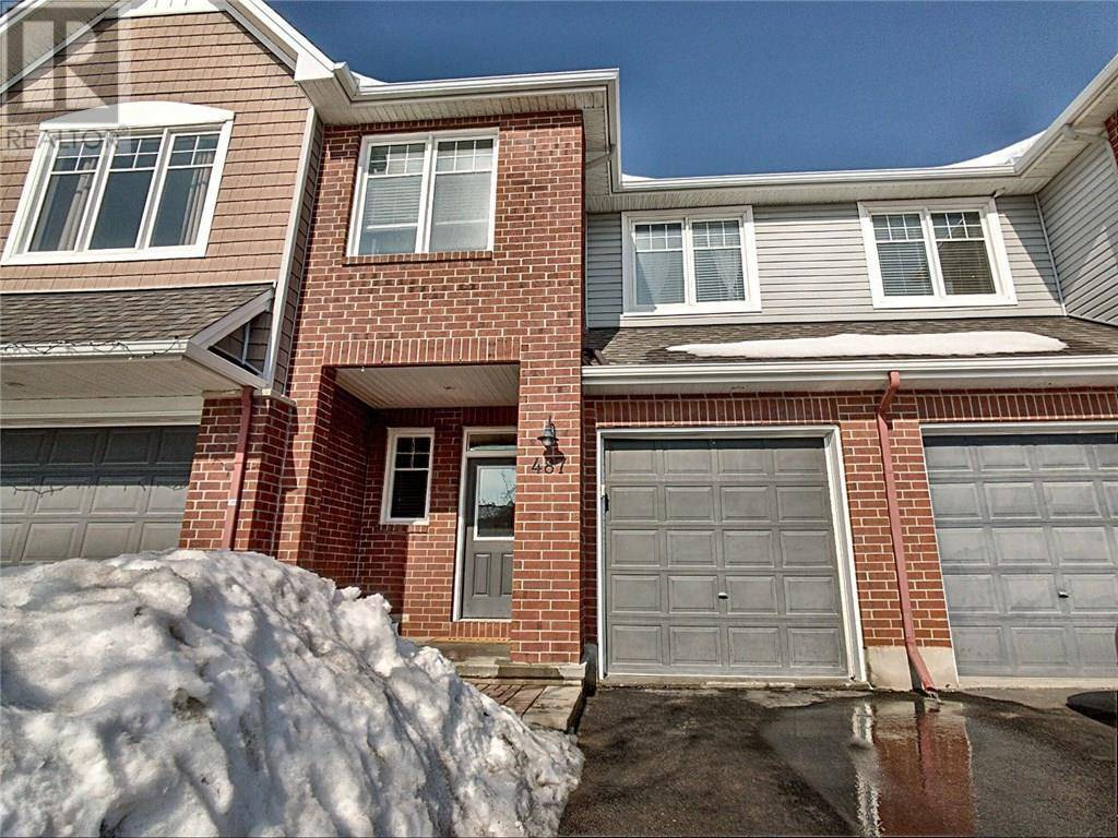 Townhouse for sale at 487 Rochefort Circ Orleans Ontario - MLS: 1183616