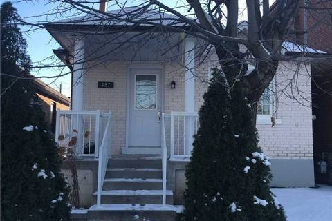 House for rent at 487 Whitamore Ave Toronto Ontario - MLS: W4657891