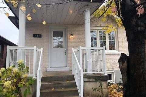 House for sale at 487 Whitmore Ave Toronto Ontario - MLS: W4613225